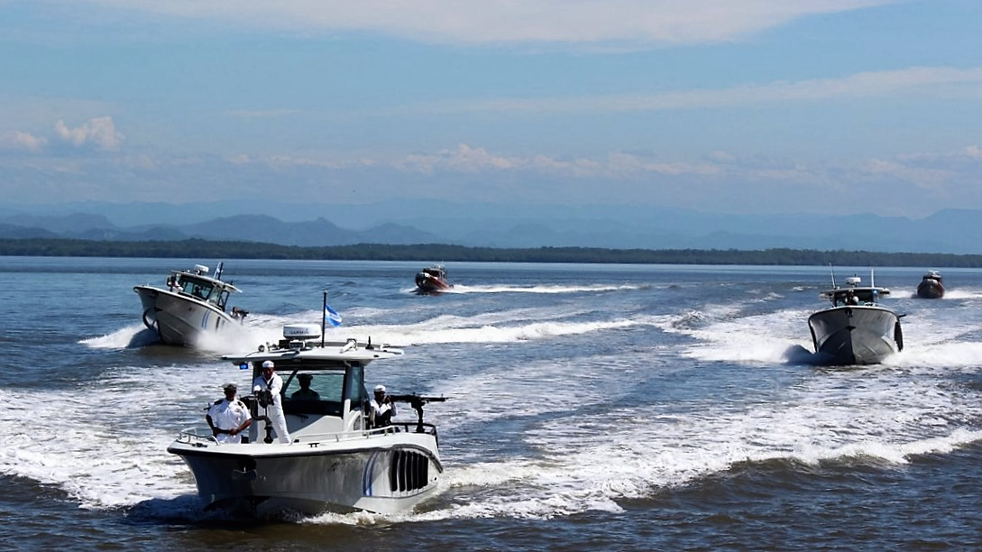 Salvadoran Naval Force Deals Blow to Narcotrafficking