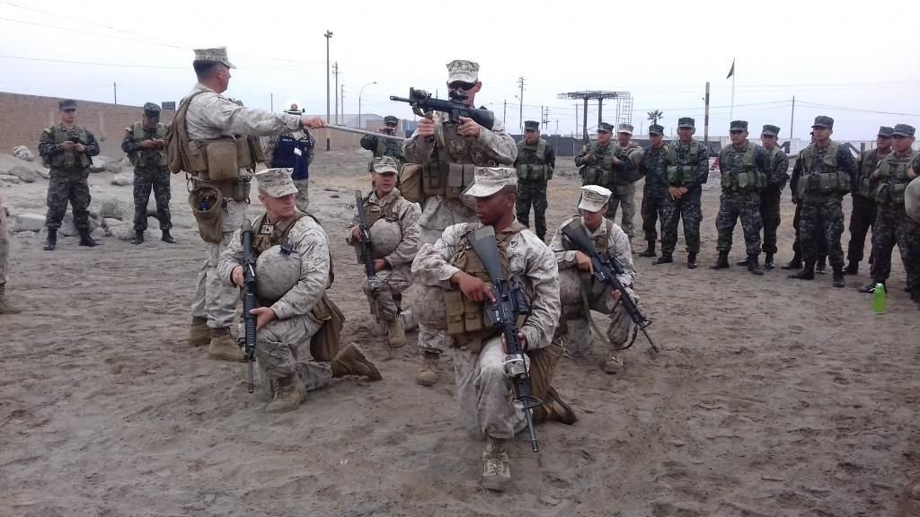U.S. and Peruvian Marines Prepare for UNITAS 2017