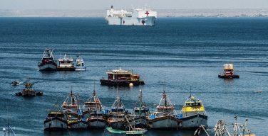 Buque hospital de la Marina de los EE. UU. y misión Promesa Duradera regresan a causa de crisis venezolana en la región