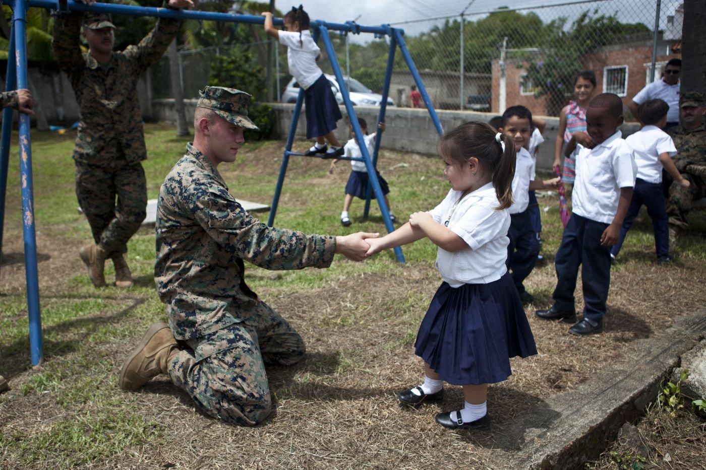 U.S. Marines Complete School Projects in Honduras