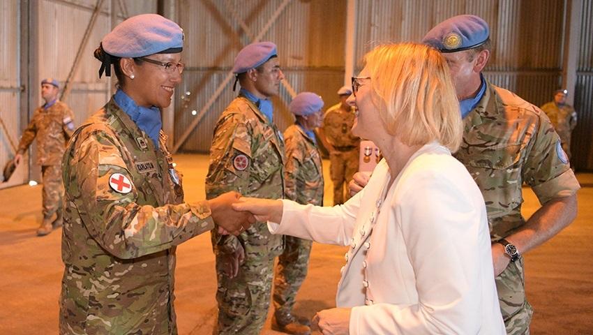 UN Honors Argentine Blue Helmets