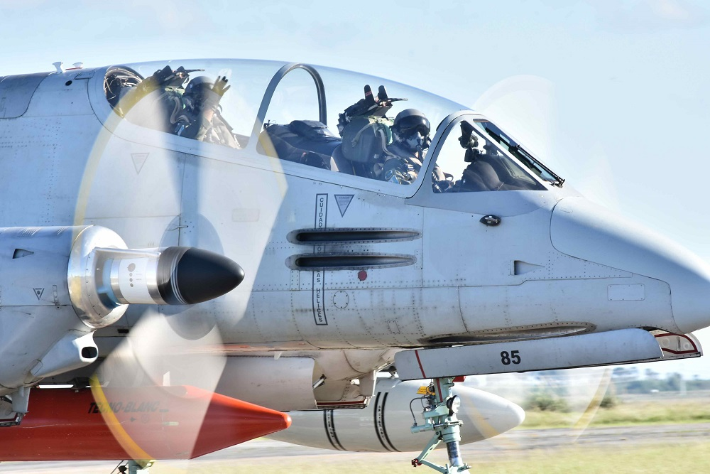 Argentine Air Force Strengthens Airspace Defense