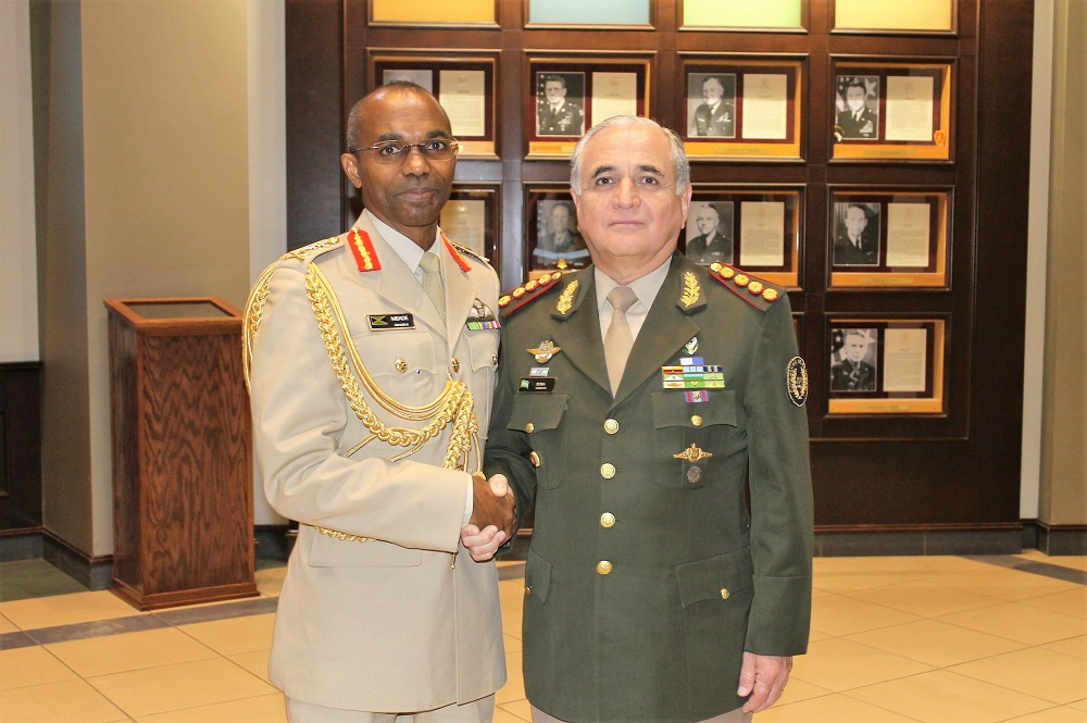 U.S. Army Recognizes Partner Nation Leaders