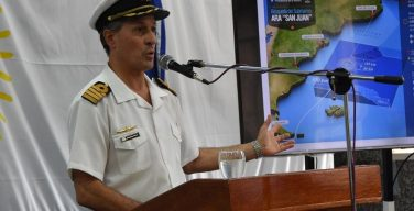 Argentine Navy Keeps Up Search for ARA San Juan Submarine