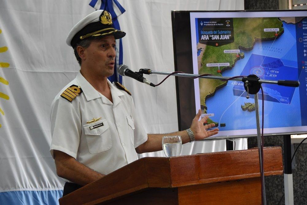 Argentine Navy Keeps Up Search for ARA San Juan Submarine