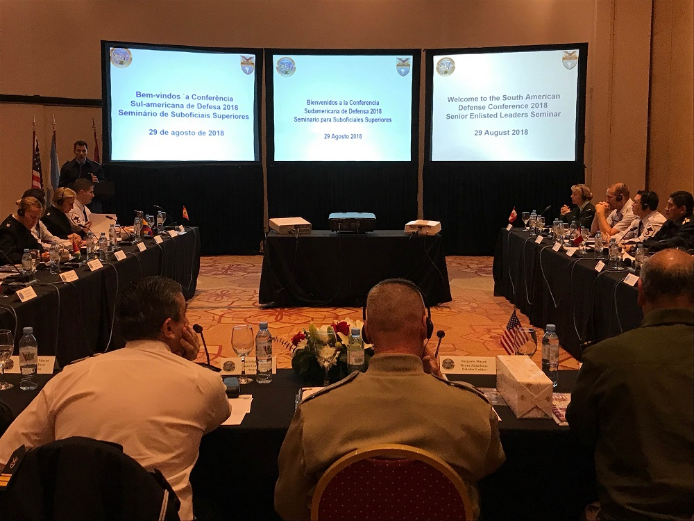 U.S., South American NCOs Gather in Buenos Aires to Discuss Common Challenges