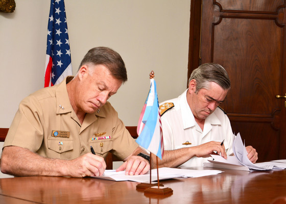 U.S. Naval Forces Southern Command South and Argentine Navy Hold Annual Maritime Staff Talks