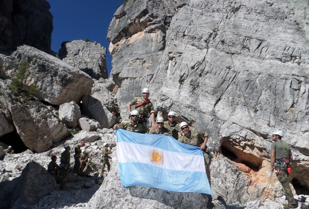 Argentine Mountain Troops Take Part in Joint Exercise in Italy