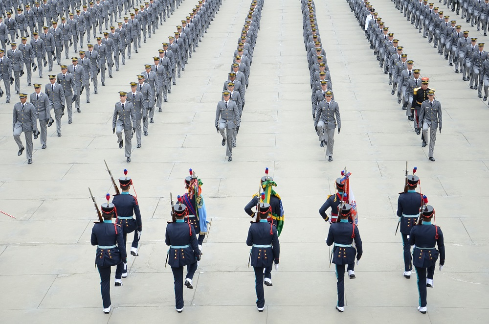 Brazilian Army Military Academy Trains Foreign Cadets
