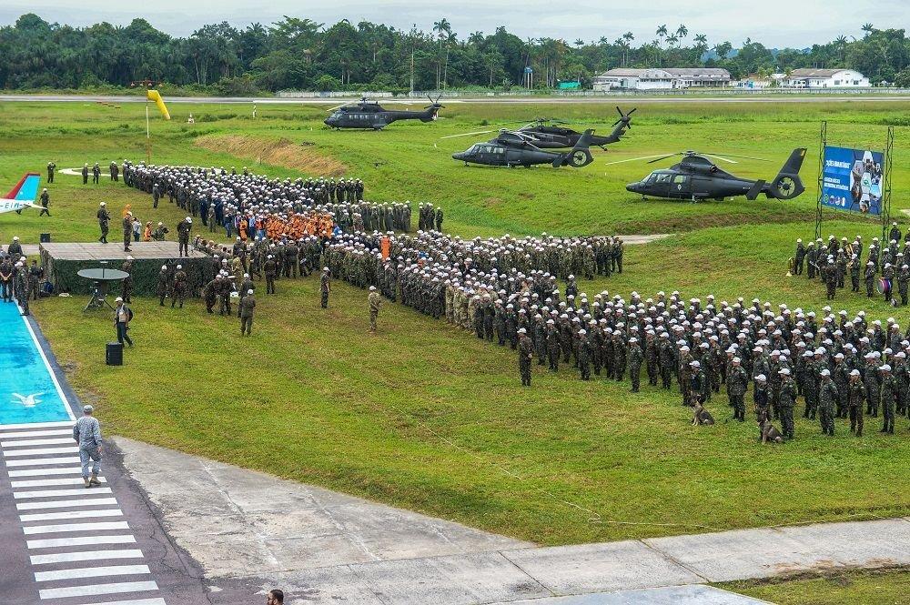 Brazilian Army Conducts Unprecedented Exercise in Amazon Border Area