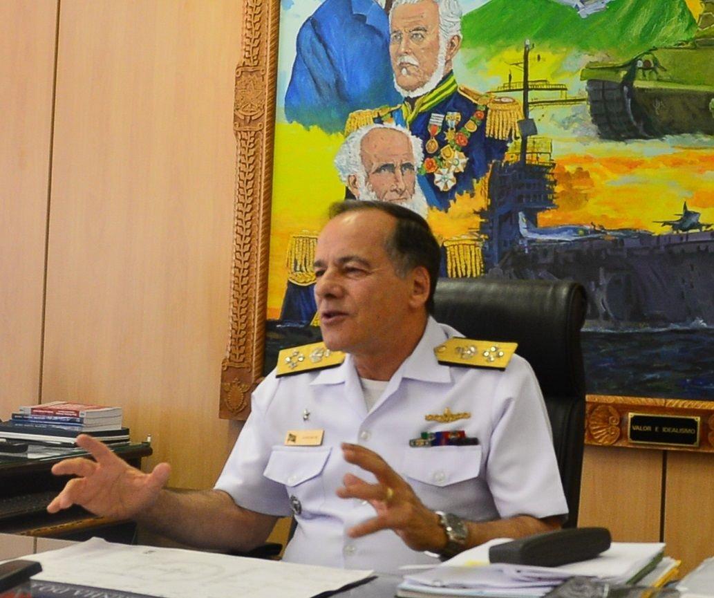 Interoperabilidade plena é a meta principal do chefe do Estado-Maior Conjunto das Forças Armadas do Brasil
