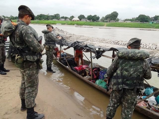 Brazilian Army Steps Up Operations on Border with Bolivia and Peru