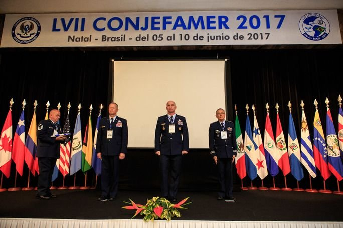 Commanders of the Air Forces of the Americas Attend Conference in Brazil
