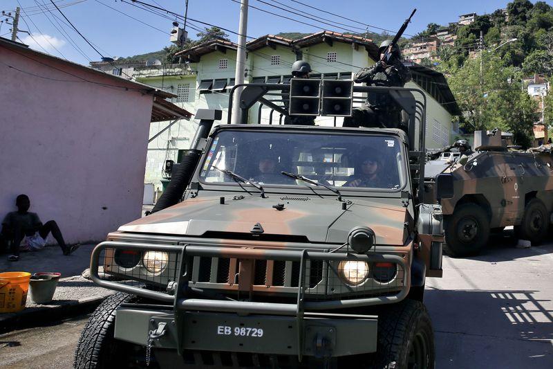 Brazilian Army Takes over Security in Rio de Janeiro
