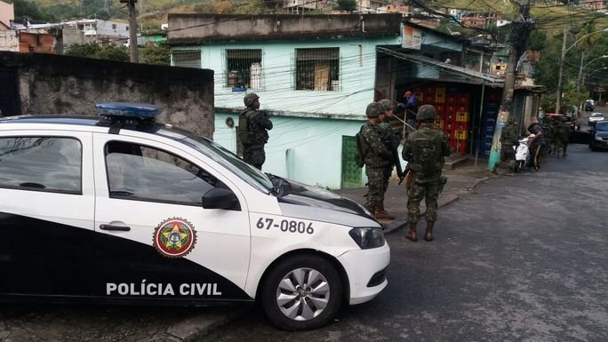 The Armed Forces Return to Operations in Rio de Janeiro