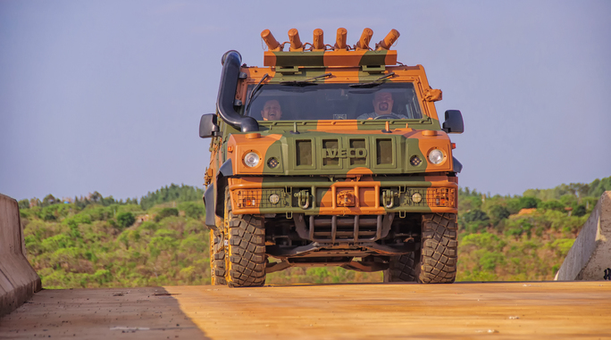 Brazilian Armored 4x4s: New Crime-fighting Technology