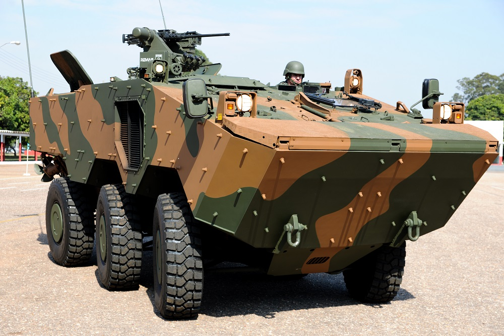 Brazilian Army Upgrades Armored Vehicle Fleet