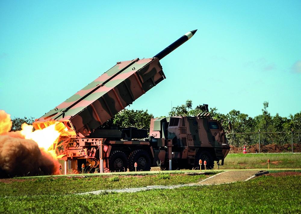 ASTROS 2020 Program Strengthens Brazilian Army's Artillery