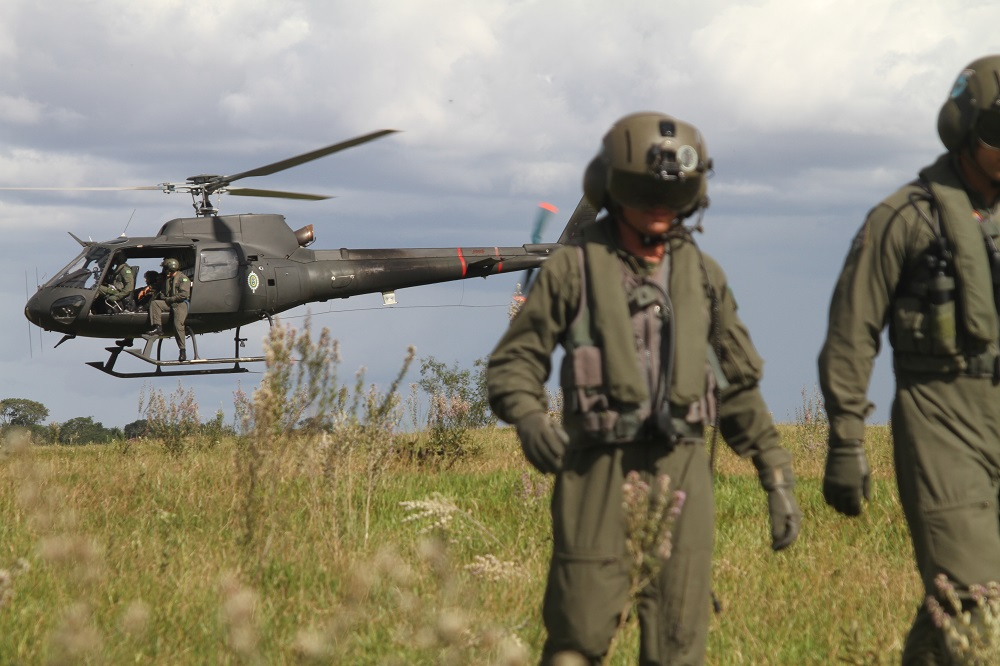 Brazilian Army Aviation Supports Joint Border Operation