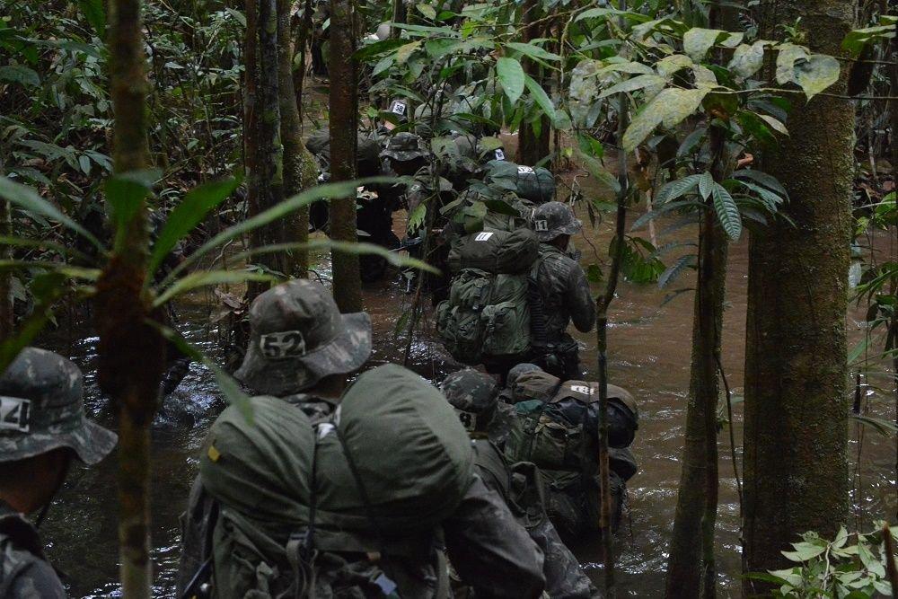 Brazilian Army Trains 86 Jungle Warriors