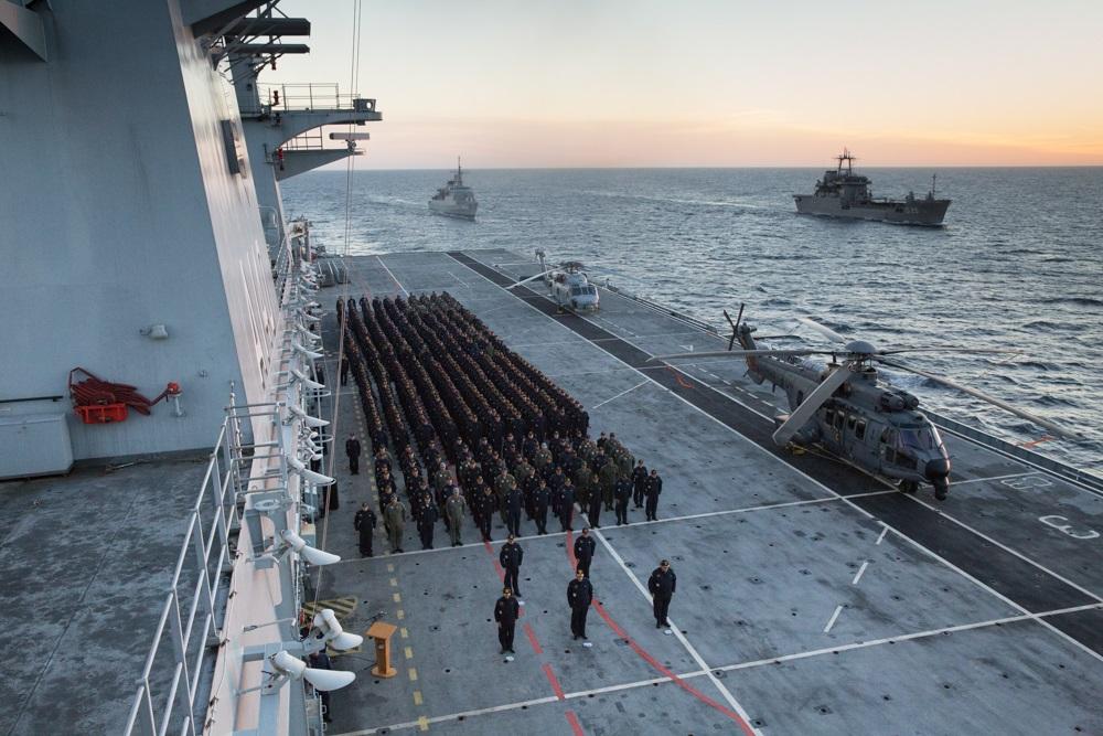 Brazilian Navy Conducts Operation Aspirantex 2019