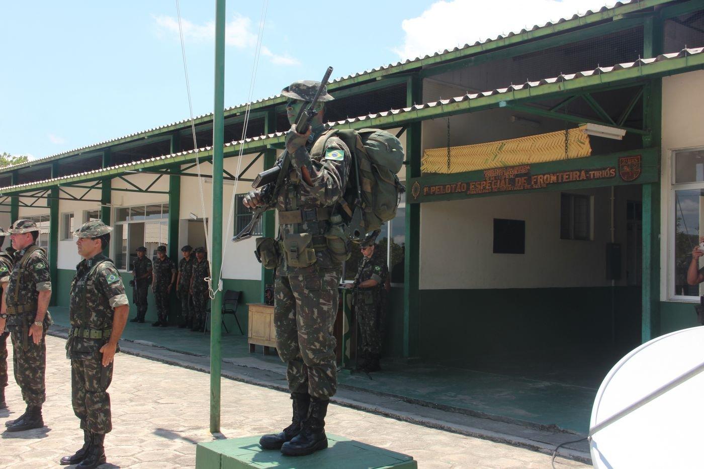 Indigenous Soldiers Defend Brazilian Border