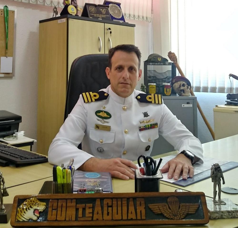 Grupamento de Mergulhadores de Combate, unidade de elite da Marinha do Brasil