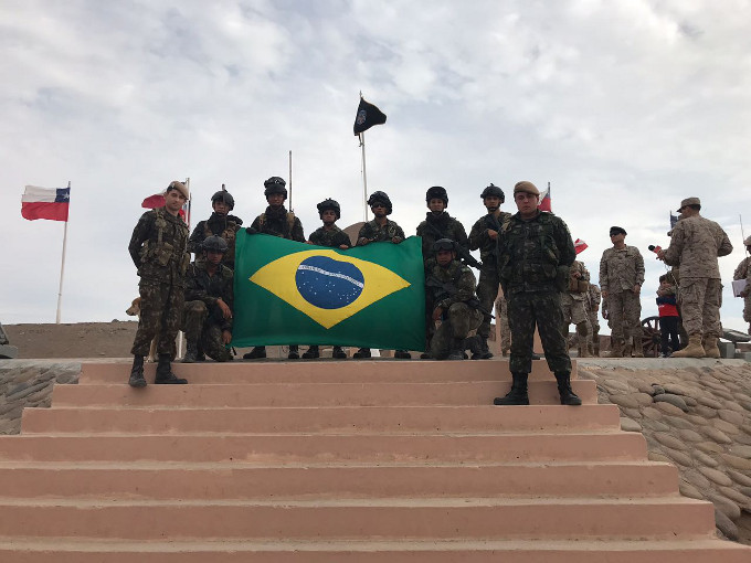 Brazilian Army Takes Part in Patrol Competition with Partner Nations