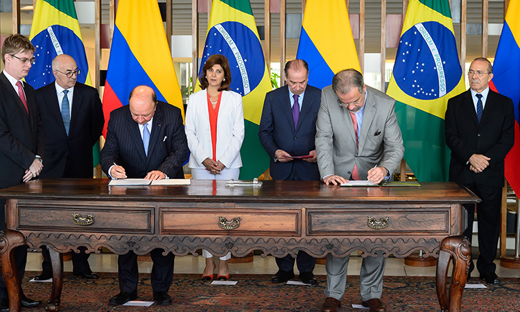 Brazil and Colombia Expand Cooperation for Humanitarian Demining