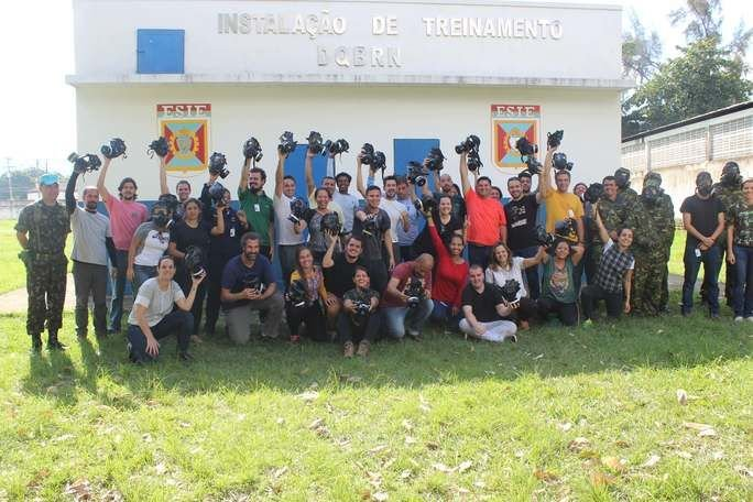 Brazilian Army Trains Journalists to Work in Conflict Zones