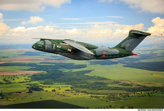 Largest Brazilian-made Military Aircraft to Kickoff Operation