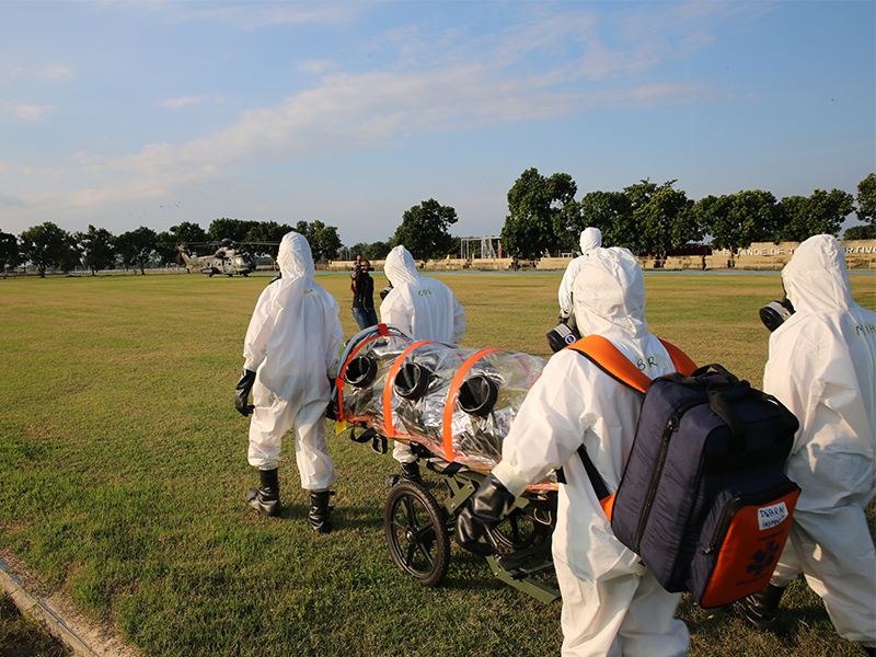 Portuguese-Speaking Service Members Prepare for Chemical Incidents