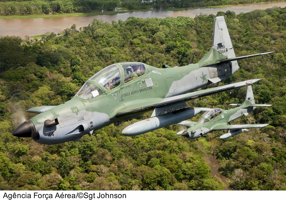 Brazilian Air Force Combats Illegal Flights on the Border