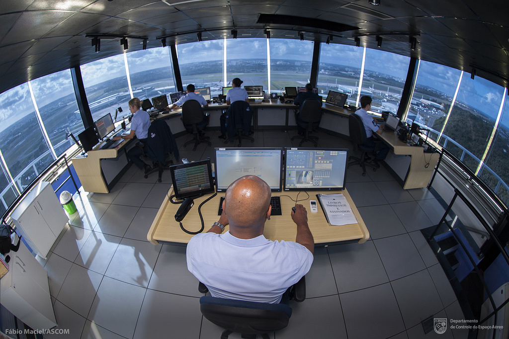 Brazilian Air Force Oversees National Air Traffic Control