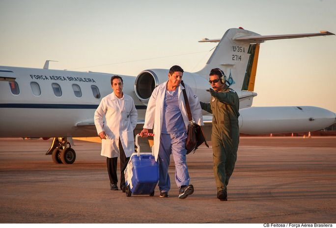 Humanitarian Aid is Routine in the Brazilian Air Force