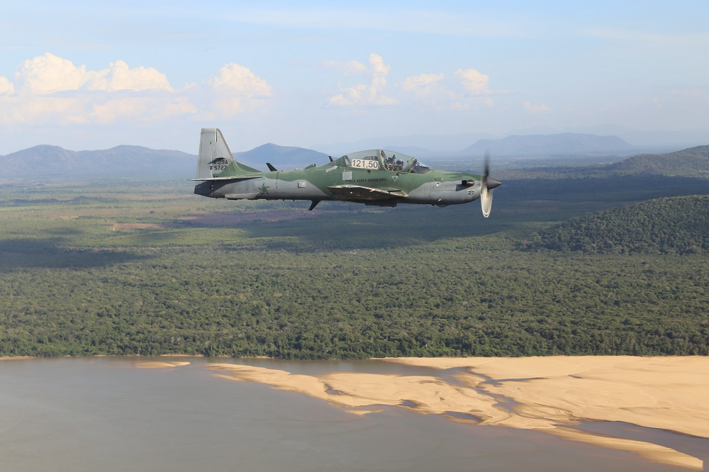 FAB Patrols Amazon Airspace