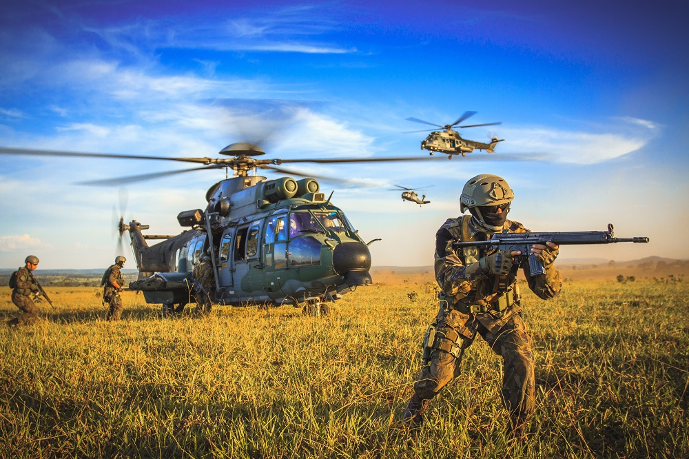 Brazilian Air Force Conducts Unprecedented Irregular Warfare Training Exercise