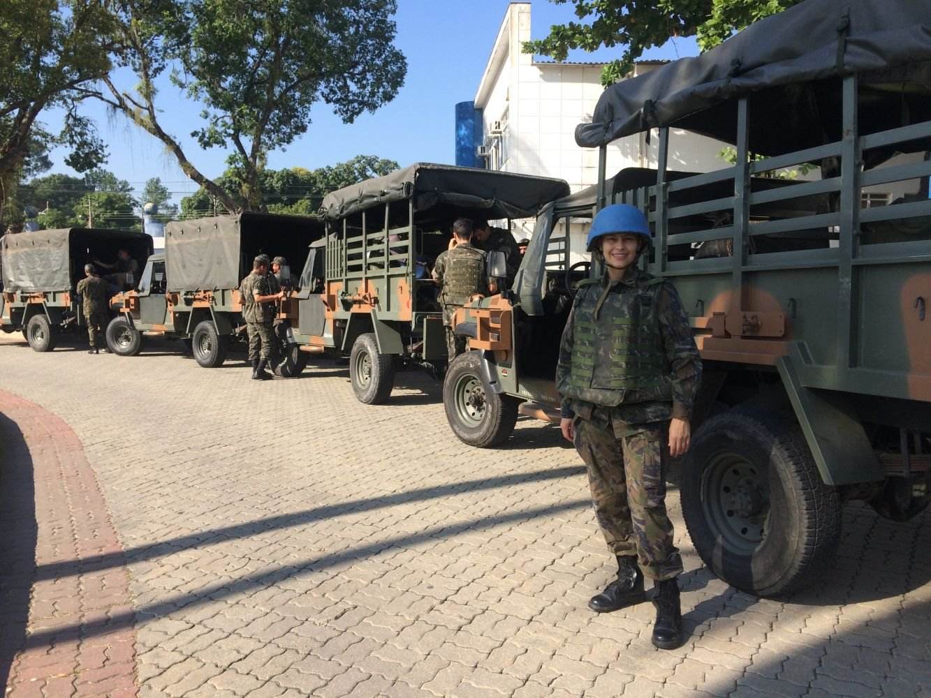 Brazilian Air Force Officer Joins Grand Scale Peacekeeping Mission