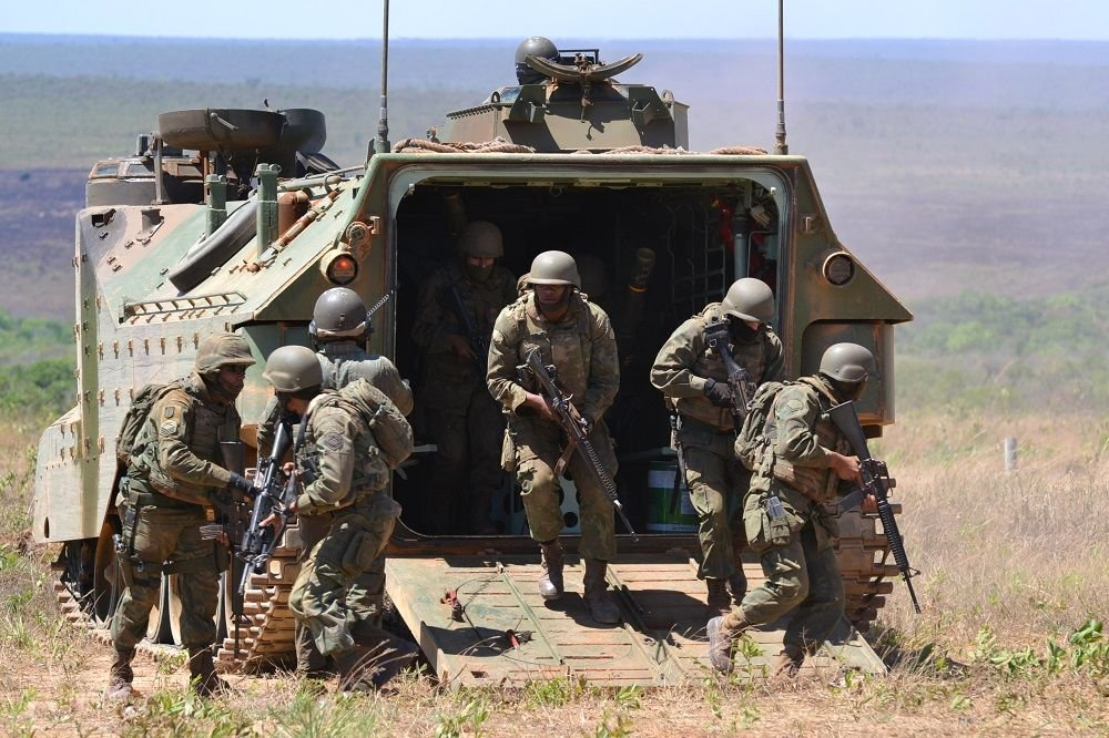 Brazilian Navy Brings Together Marines from Brazil and Partner Nations