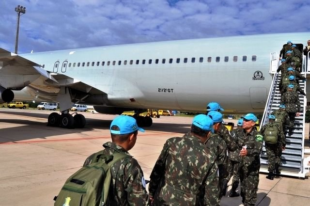 Last Brazilian Contingent Assumes Command of Peacekeeping Mission in Haiti