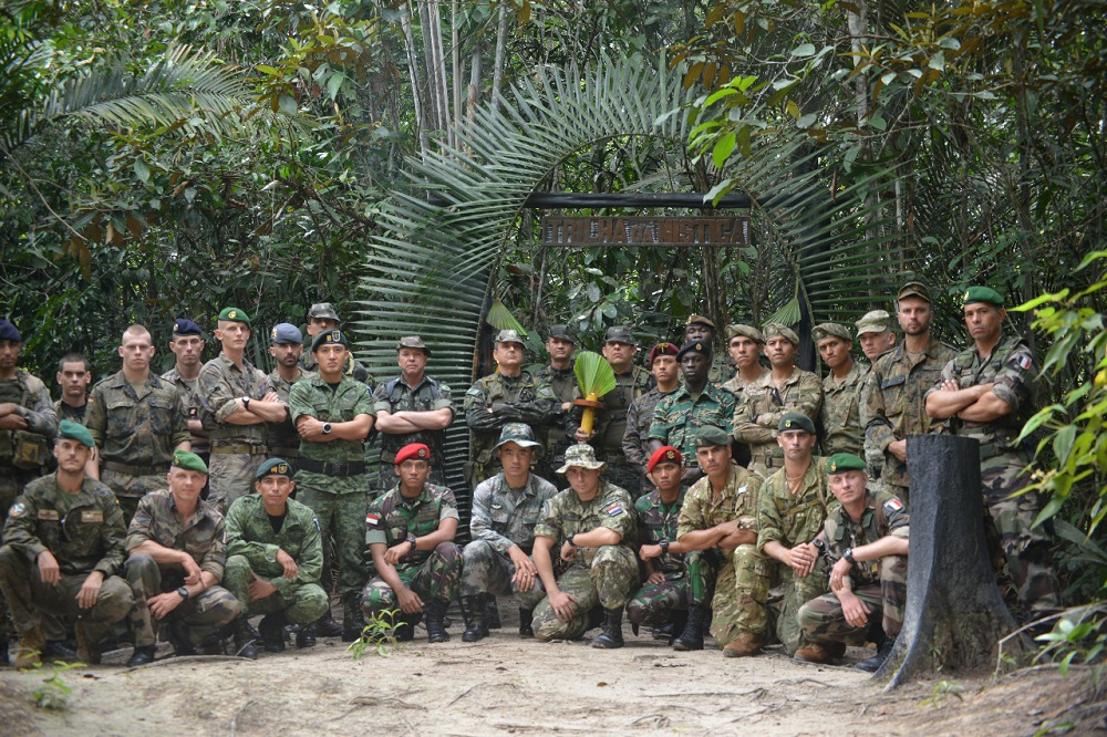 Service Members from Around the World Joined the International Jungle Operations Course