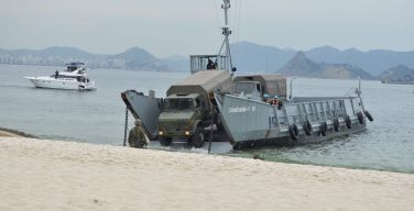 Brazilian Navy Conducts Simulation Exercise to Contain Civil Unrest During the Olympic Games