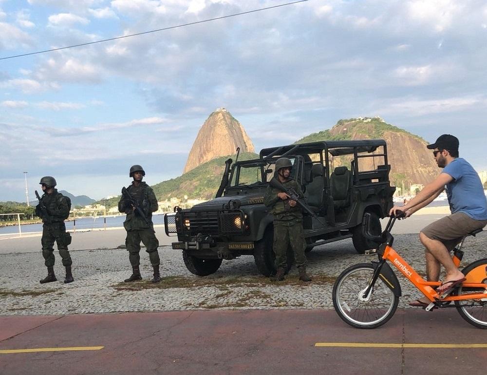 Brazilian Marine Corps Ensures Security in Rio de Janeiro