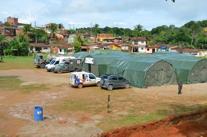 Brazilian Armed Forces Assist Flood Victims