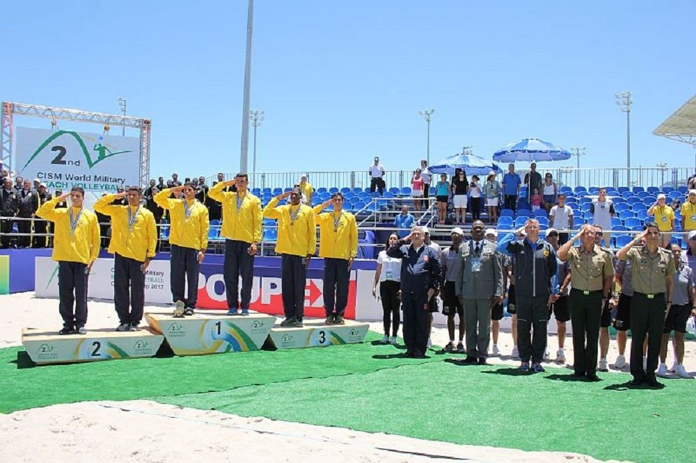 Brazil Hosts Military World Beach Volleyball and Swimming Games
