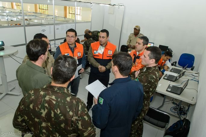 Military and Civilian Professionals Train to Respond to Natural Disasters