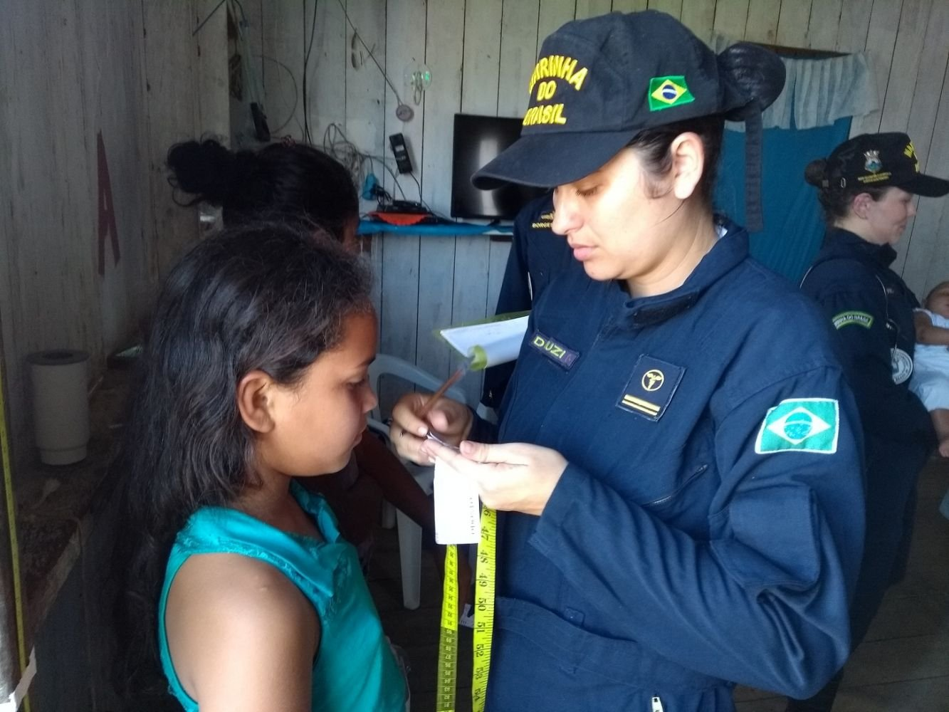 Brazilian Navy Ship Brings Health and Hope to the Amazon