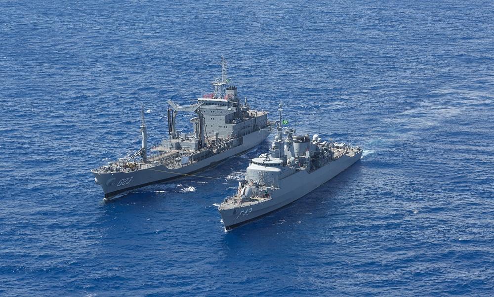 Brazilian Navy Conducts Operation Aspirantex 2018