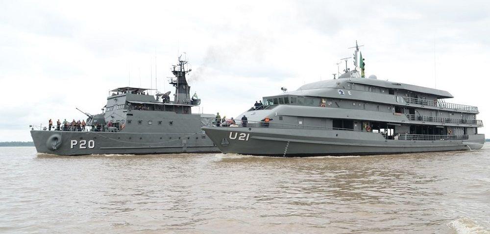 Brazilian, Colombian, and Peruvian Navies Conduct Joint Border Operation