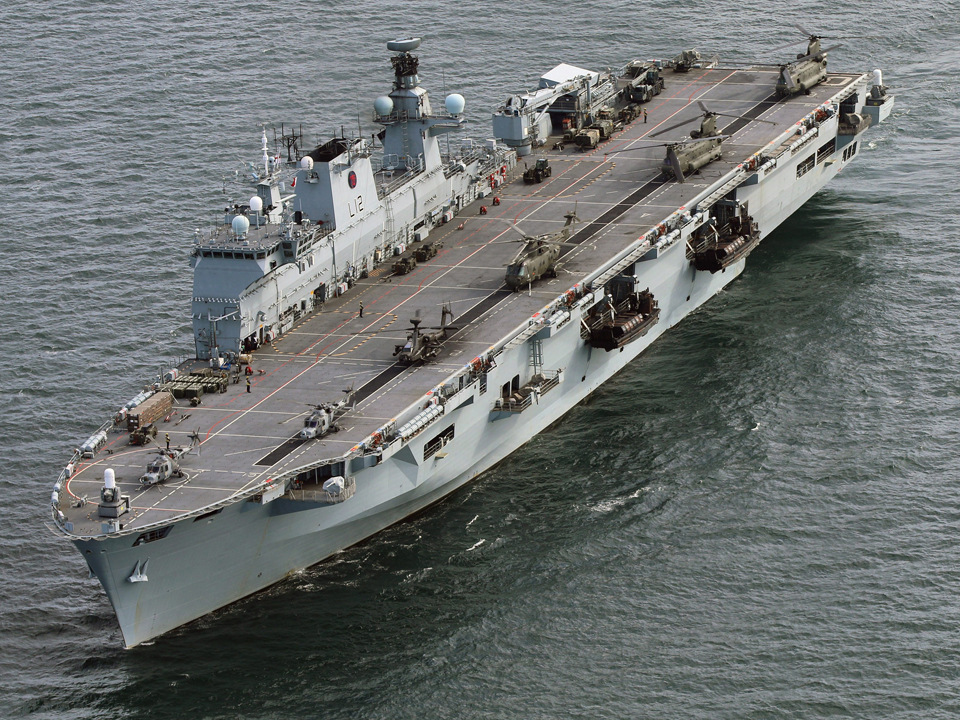 Brazilian Navy to Incorporate HMS Ocean Helicopter Carrier